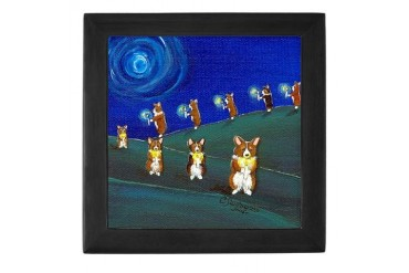 Light A Candle Pets Keepsake Box by CafePress