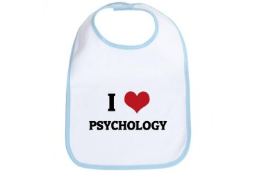 I Love Psychology Love Bib by CafePress
