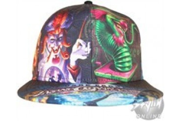 Insane Clown Posse Dark Carnival Joker Cards Silk Screened Fitted Hat
