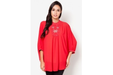 Jasmina Collection Embellished Blouse Kaftan