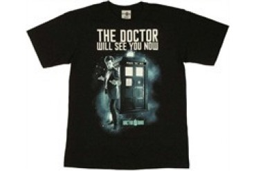 Doctor Who Will See You Now T-Shirt