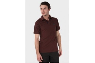 MGEE Maxwell Dark Red Polo Shirt Dark Red