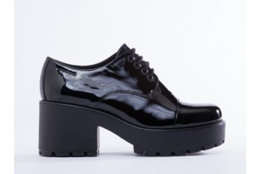 Vagabond Dioon 360 in Black Patent size 6.0