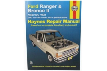 1988-1992 Ford Ranger Manual Haynes Ford Manual 36070 88 89 90 91 92