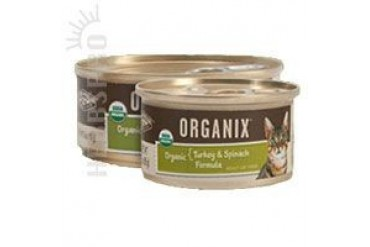 Organix Canned Cat Food Turkey With Salmon for Cats 3 oz