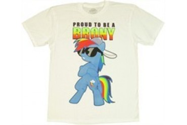 My Little Pony Proud to Be a Brony T-Shirt Sheer