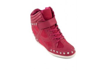 EZRA by ZALORA Studded Wedge Sneakers