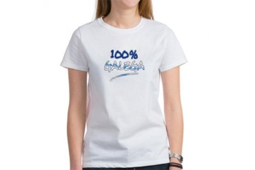 100 GALICIA WOMAN Spanish Women's T-Shirt by CafePress