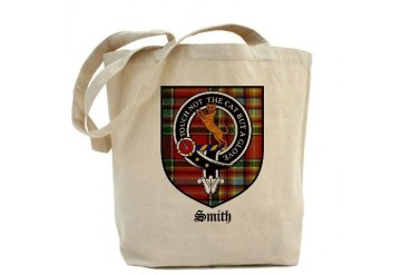 Smith Clan Crest Tartan Scottish Tote Bag by CafePress