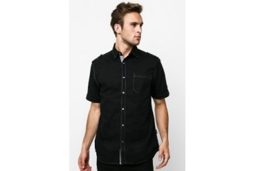 Intresse Casual Short Sleeve Cotton Poplin