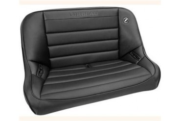 Corbeau Baja Rear Bench Seat in Black Vinyl 64010 Seat