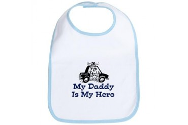 My Daddy Is My Hero (Policeman) Bib