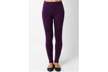Triset Purple Flower Printed Legging