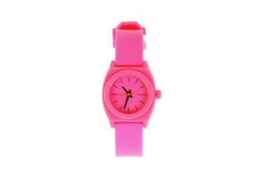 Nixon 'The Small Time Teller P' Watch Hot Pink
