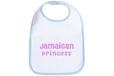 Jamaican Princess Ethnicity Bib by CafePress