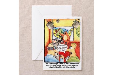 TV Weatherman - Greeting Cards Pk of 10 by CafePress