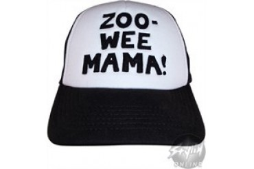 Diary of a Wimpy Kid Zoo-Wee Mama Embroidered Snap Closure Mesh Youth Hat