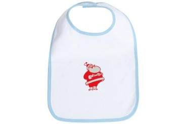 Retro Santa Vintage Bib by CafePress