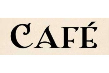 Cafe I Poster Print by N Harbick (12 x 36)