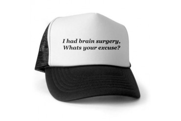 Brain Surgery Funny Trucker Hat by CafePress