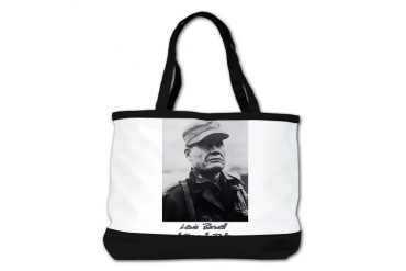 Chesty Puller w text Usmcfp Shoulder Bag by CafePress