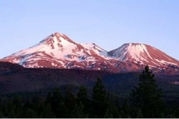 Shasta Sunset II Poster Print by Douglas Taylor (24 x 36)