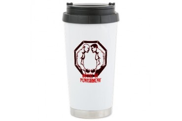 MMA Boxing Ceramic Travel Mug by CafePress