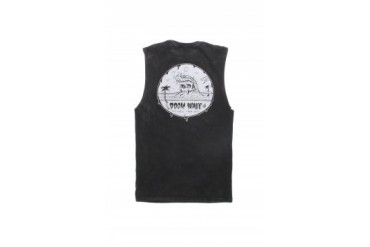 Mens Volcom Tank Tops - Volcom Doom Wave Cutoff Tank Top