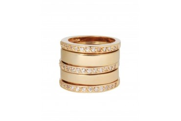 Jules Smith 'Love From Paris' Stacking Rings Gold, 8