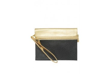 Gold Johann Clutch Bag