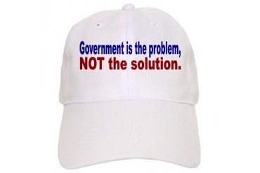 Government is the Problem Big brother Cap by CafePress