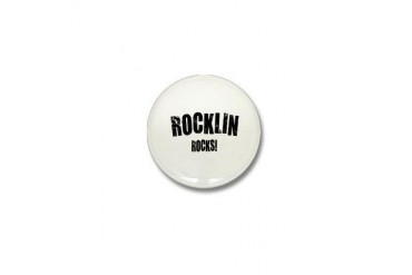 Rocklin Rocks California Mini Button by CafePress