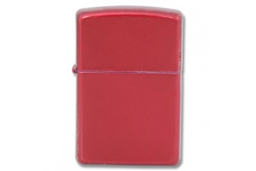 "Zippo ""Candy Apple Red"" Lighter"