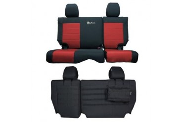 Trek Armor Rear Split Bench Seat Cover TAJKSC2013R4BR Seat Cover
