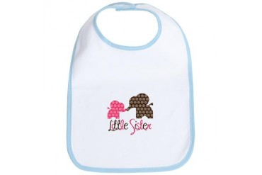 Little Sister Elephant Bib