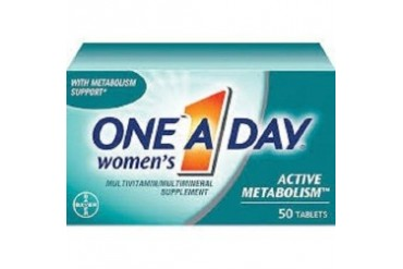 One-A-Day, Women s Active Metabolism, Multivitamin Multimineral