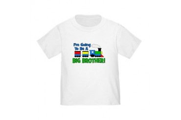 Big Brother To Be TRAIN Toddler T-Shirt