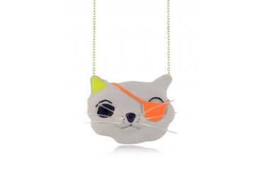 Plus qu'un Chat Apollon Long Necklace