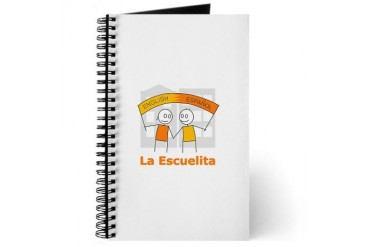 La Escuelita Blank Pages Spanish Journal by CafePress