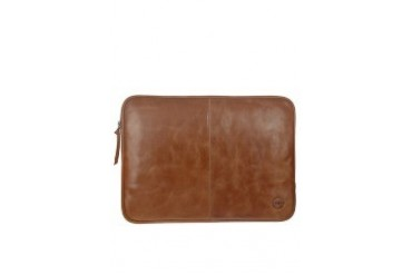 "Leather case for up to 14"""" Laptops & Notebooks - Golden tan"