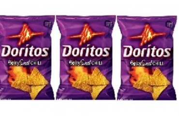Doritos Spicy Sweet Chili Flavored Tortilla Chips 3 Bag Pack