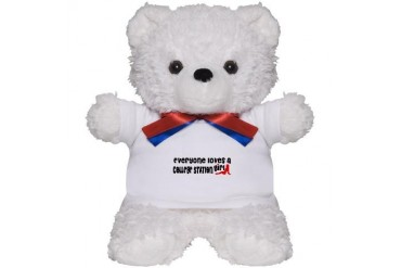 Everyone loves a College Station Girl Texas Teddy Bear by CafePress