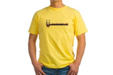 Yellow Alert T-Shirt Support Yellow T-Shirt by CafePress
