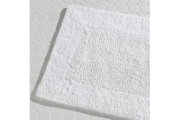 Ddi Bathmats 20 X 30 7 Lb. White 12 cs (pack Of 12)