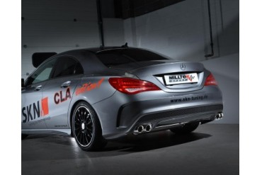 Milltek Sport Resonated Cat-Back Exhaust System Mercedes-Benz CLA250 14-15