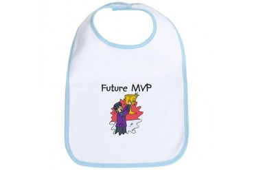Future MVP Baby Bib by CafePress
