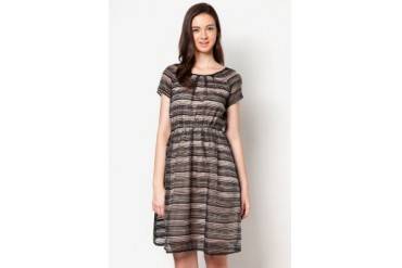 DressingPaula Pleated Long Dress