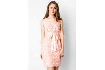 Voerin Rosette Dress