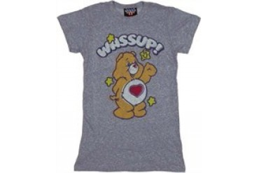 Care Bears Tenderheart Bear Wassup Baby Doll Tee by JUNK FOOD