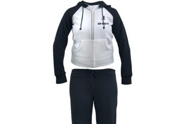 Cross Country Skiing Funny Women's Tracksuit by CafePress